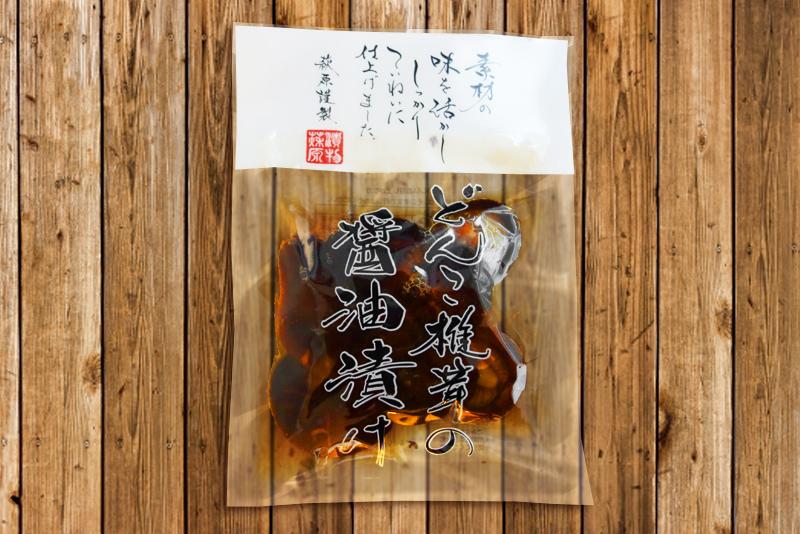 どんこ椎茸の醤油漬け